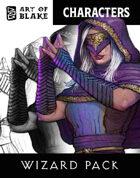 Character Stock Art - Wizard Art Pack