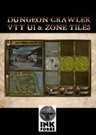 Dungeon Crawler - VTT UI & Zone Tiles