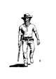 Cowboy - Stock Art