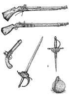Weapons 8 - Stock Art