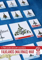 Aircraft counters 1:700 Falklands (Malvinas) war