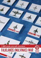 Aircraft counters 1:600 Falklands (Malvinas) war