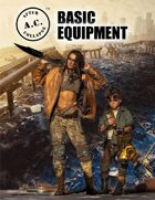 A.C.: AFTER COLLAPSE BASIC EQUIPMENT