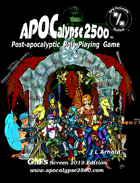APOCalypse 2500™ GM's Screen