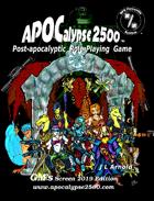 APOCalypse 2500™ GM's Screen
