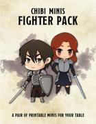 Chibi Minis - Fighter Pack