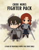 Chibi Minis - Fighter Pack