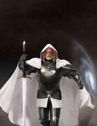 Caster in Heavy Armor/Eldritch Knight - Stock Illustration