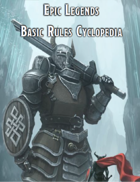 Epic Legends Basic Rules Cyclopedia