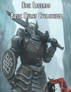 Epic Legends Basic Rules Cyclopedia