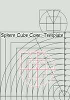 Sphere Cube Cone: Spell Template