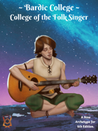 College of the Folk Singer