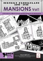 SCENERY FLOORPLANS - Mansions Vol1