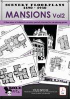 SCENERY FLOORPLANS - Mansions Vol2