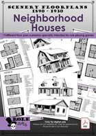 SCENERY FLOORPLANS - Neighborhood Houses