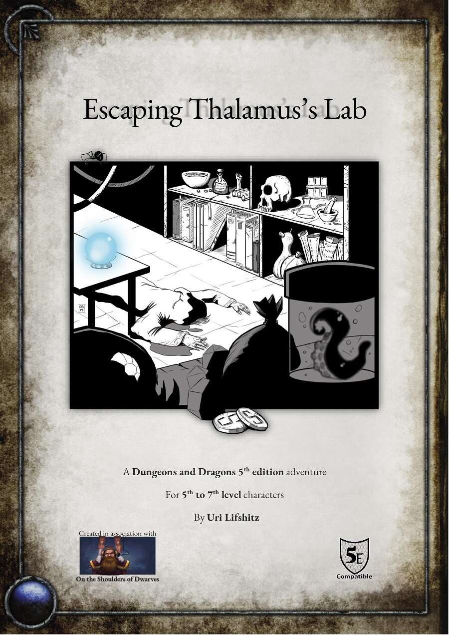 Cover of Escaping Thalamuss Lab