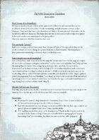 The GMs Description Cheatsheet