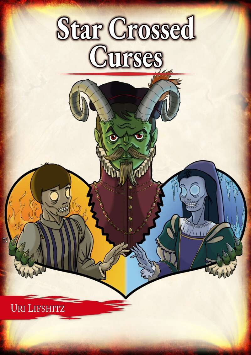 Cover of Star Crossed Curses