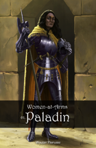 Stock art: Women-at-Arms 01. Paladin