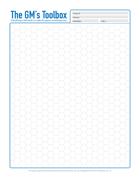 Map sheet (Hex)
