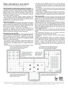 The Dwarven Auction (One Page Adventure)