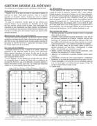 Gritos Desde el Sótano (One Page Adventure)