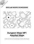 Dungeon Maps MP1 - Dollar Menu Dungeons