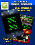 2 Player: Bounty hunter card game
