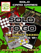 Solo To Go Zombie Set 3