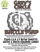 2 sheet BATTLEMAP grey's circle