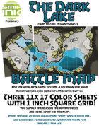 3 sheet BATTLEMAP dark lake