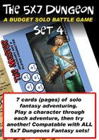 5x7 Dungeon Fantasy set 4