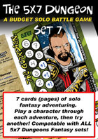 5x7 Dungeon Fantasy set 7