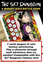 5x7 Dungeon Fantasy set 8