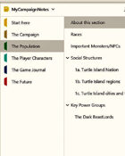 DM's Campaign Notebook (OneNote)