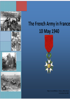 The French Army in the West 1940. A detailed Organisation for Battle