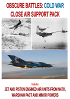 OBSCURE BATTLES 2 - COLD WAR - Close Air Support Pack - Early Period