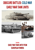 OBSCURE BATTLES 2 - COLD WAR -  EXTRA TANK Units EUROPEANS- Early Period