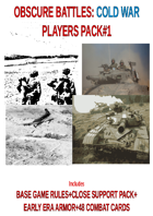 Obscure Battles : Cold War - PLAYERS PACK#1 [BUNDLE]