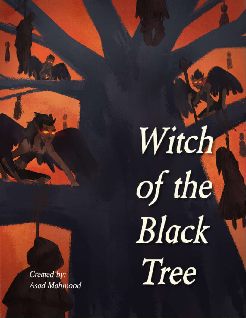 Cover of Witch of the Black Tree