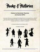 Hooks & Histories: Character Backstory Starters for Fantasy RPGs