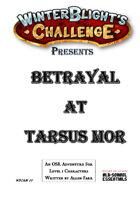 Betrayal At Tarsus Mor