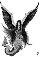FALLEN ANGEL - Stock art