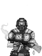 SPACE MARINE  - Stock art