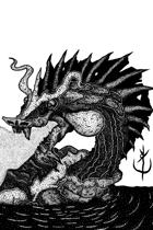 DRAGON TURTLE - Stock art
