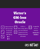 Victor's GM-less Oracle