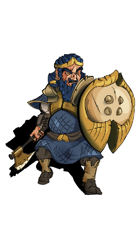 Sumerian Dwarf - Stock Art