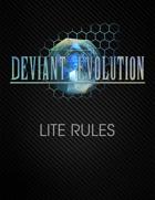 Deviant Evolution Lite Rules