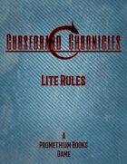 Cursebrand Chronicles Lite Rules