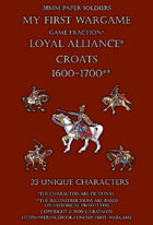 28mm Loyal Alliance 1600-1650. Light cavalry.